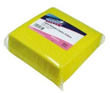 Clean & Clever Lightweight Cloths   Yellow