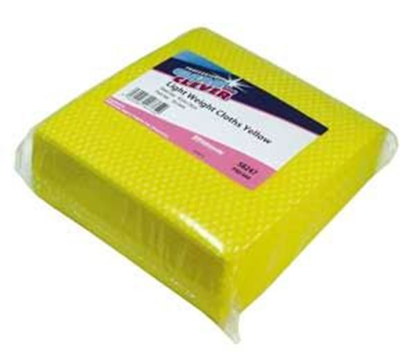 Clean & Clever Lightweight Cloths | Yellow