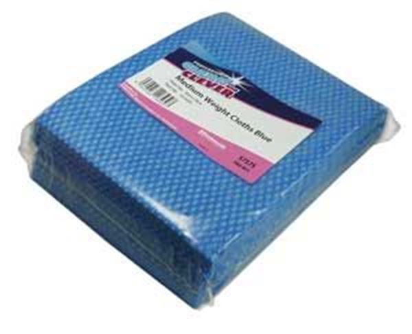 Clean and Clever Blue Medium Weight Cloths