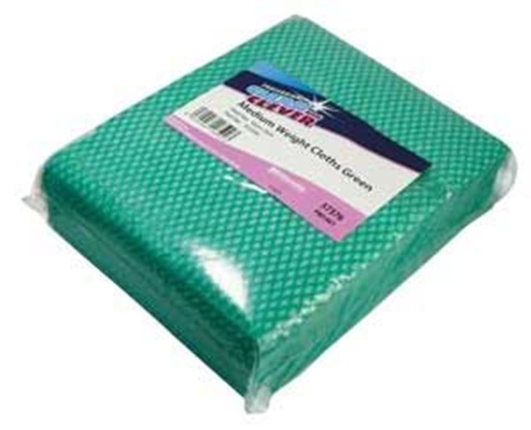 Clean and Clever Green Medium Weight Cloth