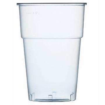 BRIMFULL DISPOSABLE GLASS CE