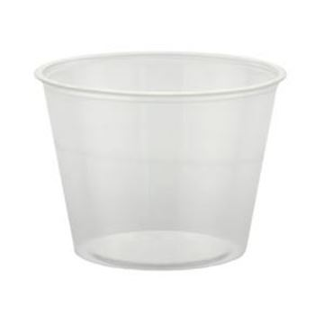 PLASTIC CLEAR SOUFFLE CUPS