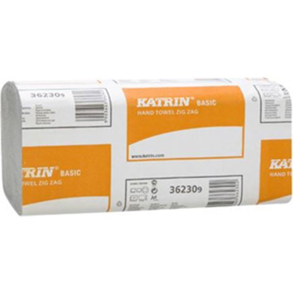 Picture of x5000 KATRIN BASIC VFOLD 1ply TOWEL - NATURAL23x23cm  10066955398