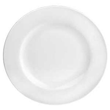 PURE WHITE PLATE - WIDE RIM