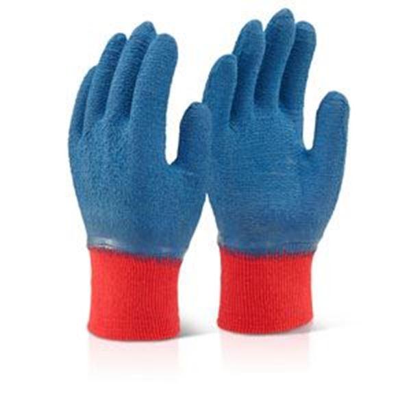 Blue Latex Glove Size 9 LFCGGBL