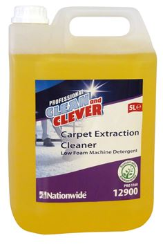 Clean and Clever Carpet Extraction Cleaner 5Lt