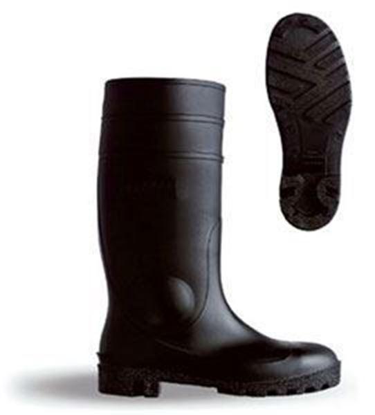 PVC BLACK SAFETY WELLINGTON
