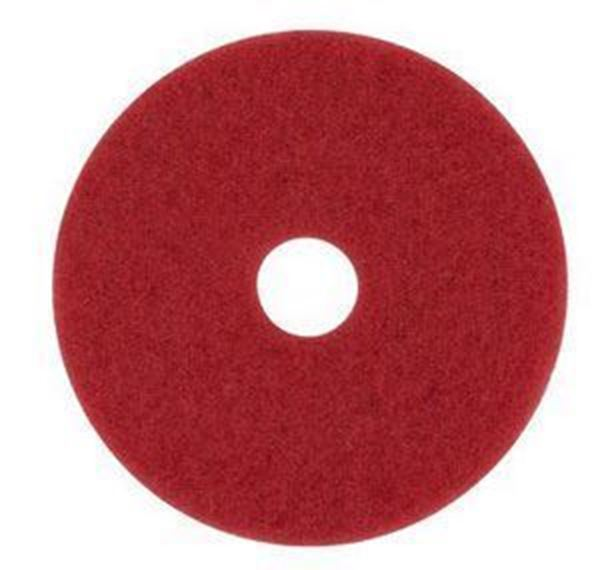 "Picture of RED 21"" 3M FLOOR PADS"
