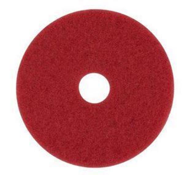 "RED 21"" 3M FLOOR PADS"