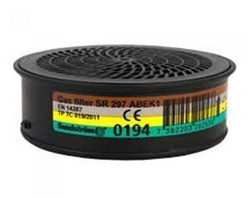 Picture of SR297 SUNDSTROM ABEK1 GAS FILTER(Filter for SR100)