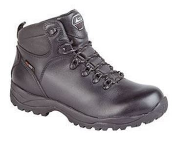 Picture of TYPHOON BLACK SOFTIE LEATHER HIKER BOOT