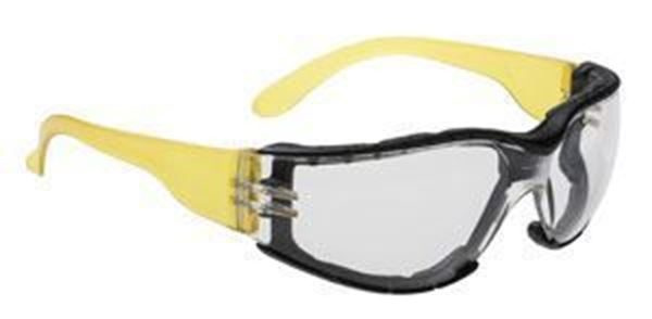 WRAP AROUND PLUS SAFETY SPECTACLE - CLEAR