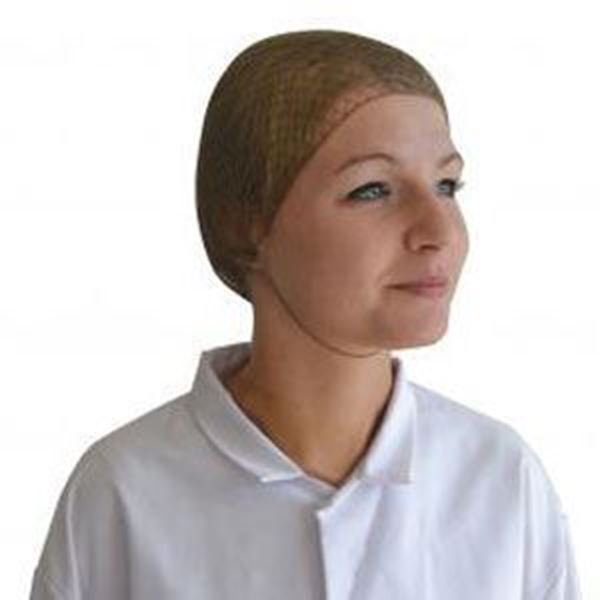 Picture of x100 HAIRNET DETECTABLE - BROWN12978