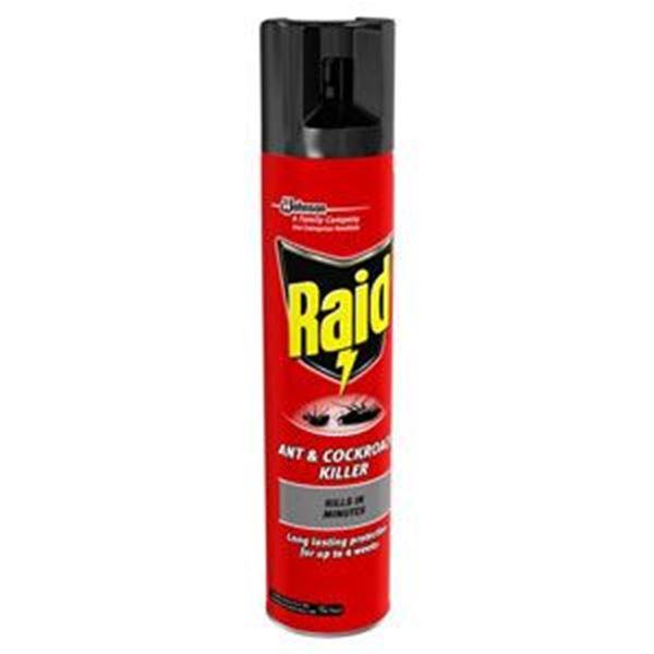 RAID ANT AND COCKROACH