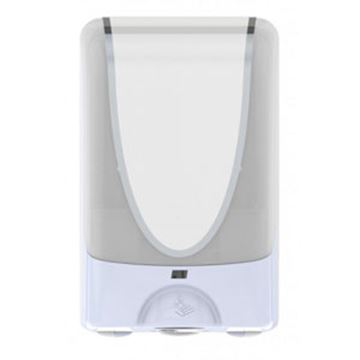 Picture of 1.2lt WHITE/CHROME TOUCH FREE DISPENSER
