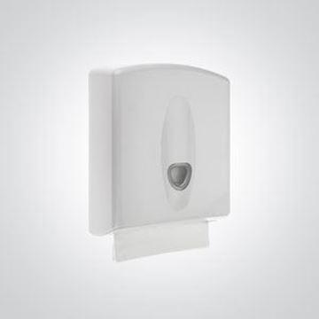 White C-Fold/I-Fold Hand Towel Dispenser