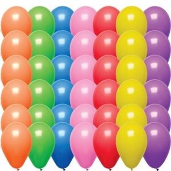 MULTI COLOURED BALLOONS x200