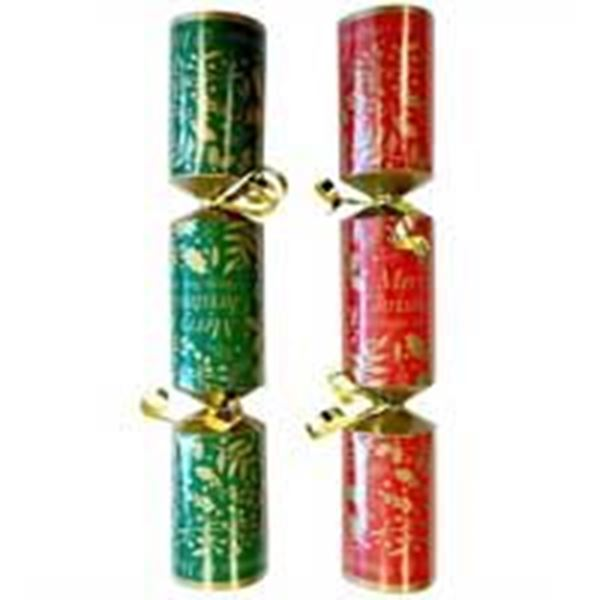 """Picture of 10"""" JOLLY HOLLY CRACKER (A) x100"""