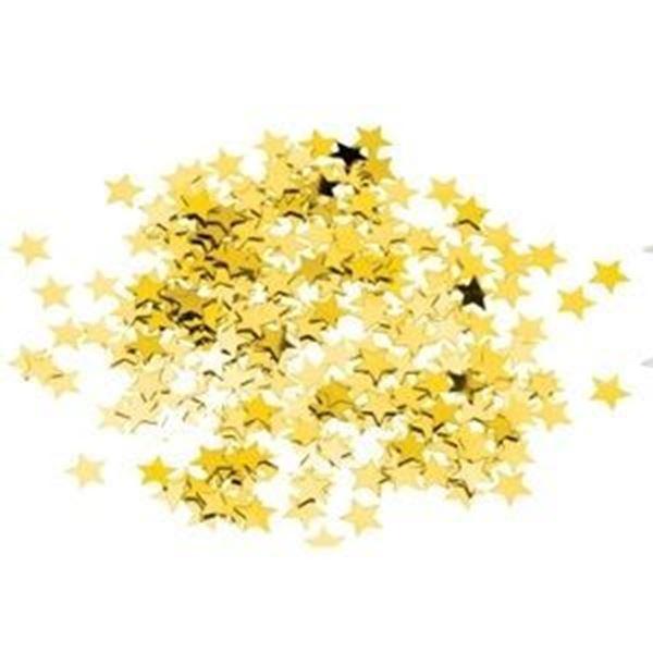 28g GOLD STAR CONFETTI