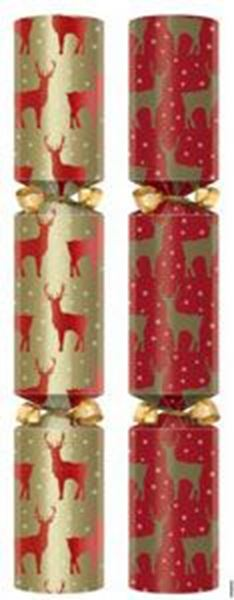 """Picture of 12"""" WINTER STAG CRACKER (L) x50"""