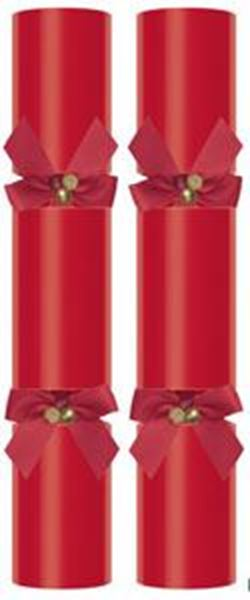 CHRISTMAS WISHES RED CRACKER (X)