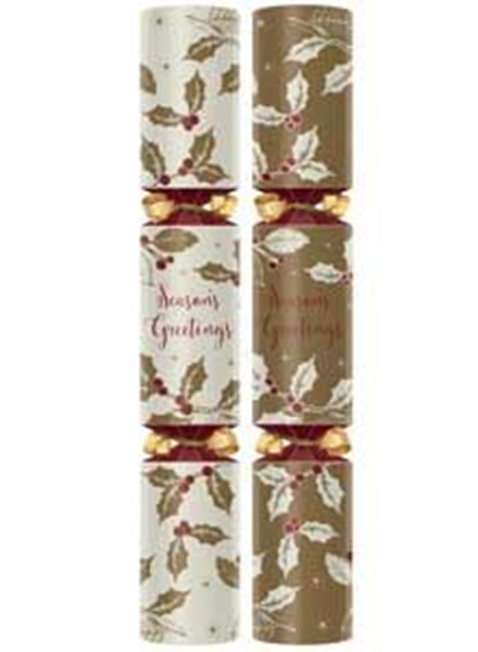 "Picture of 12"" SEASONS GREETINGS CRACKER (L) x50"