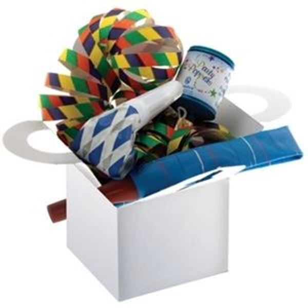 SILVER ADULT PARTY BOX