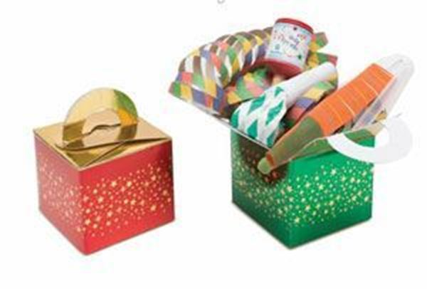 RED AND GREEN ADULT PARTY BOX