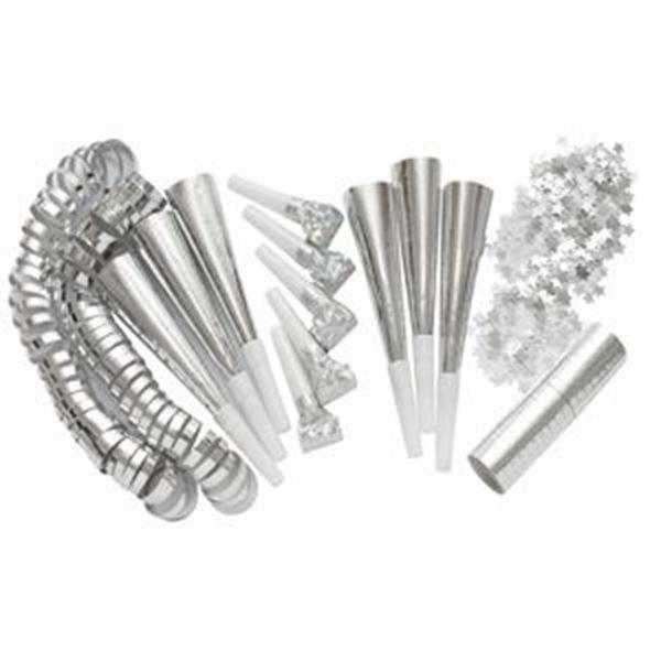 SILVER ADULT PARTY PACK