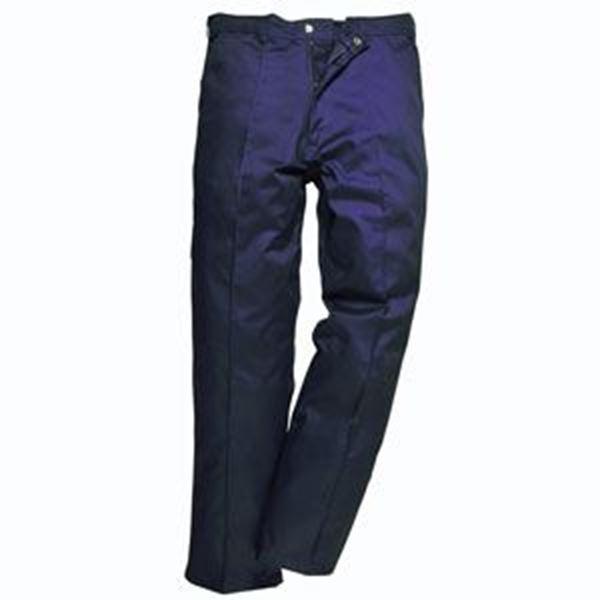 Mens Preston Trousers Reg Leg - NAVY S48