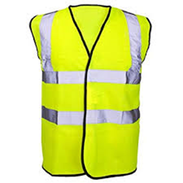 Picture of Hi-Visibility Yellow Waistcoat - Large