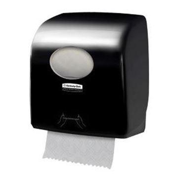 AQUARIUS SLIMROLL TOWEL DISPENSER - BLACK