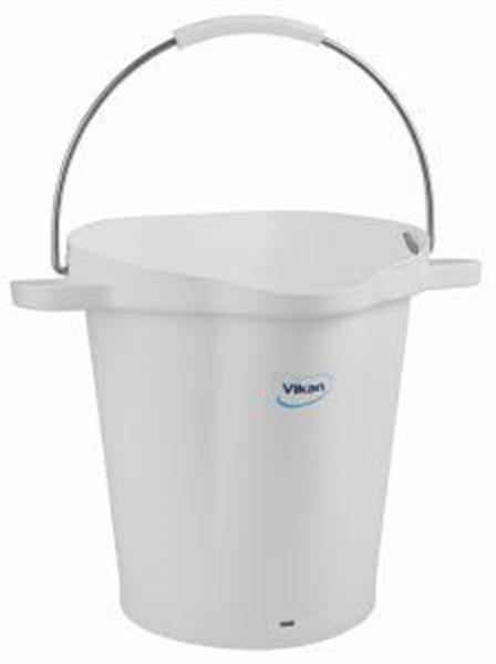 VIKAN BUCKET - WHITE