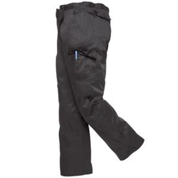 COMBAT TROUSERS BLACK REG LEG