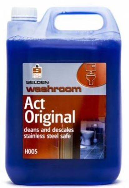 Picture of ACT SULPHAMIC TOILET CLEANER 5lt