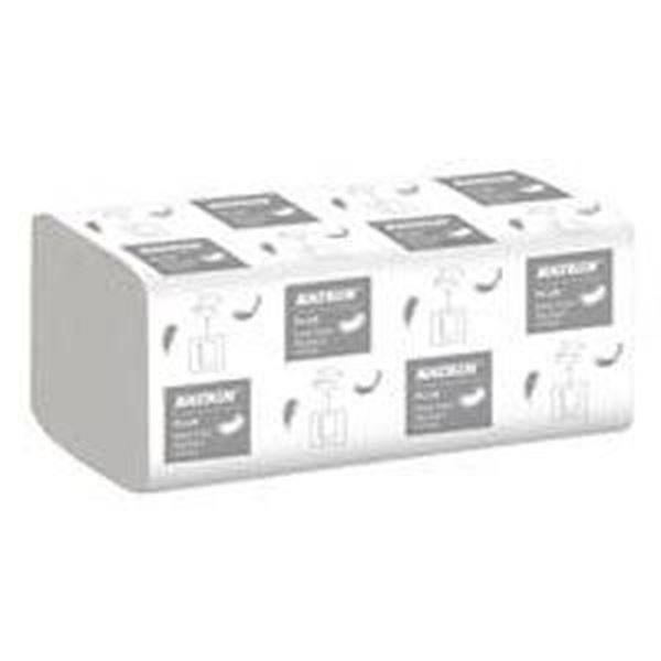 Picture of x4000 KATRIN PLUS ZFOLD 2ply TOWEL - WHITE(22.4x23cm) - Handy Pack