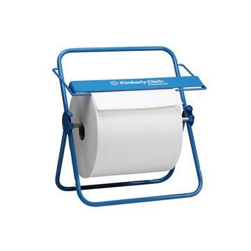 Kimberly-Clark Professional™ Wall Mounted Large Roll Wiper Dispenser 6146 - Blue