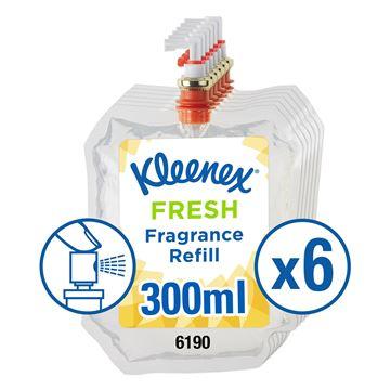 Kleenex® Botanics Aircare Fragrance Fresh Refill 6190, clear, 6x300ml (1,800ml total)