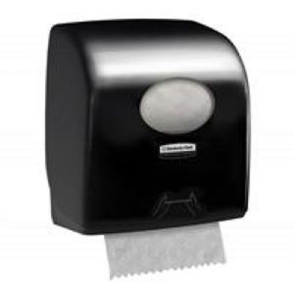 Aquarius™ Rolled Hand Towel Dispenser 7375 - black