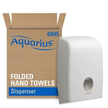 Aquarius™ Folded Hand Towel Dispenser 6945 - White