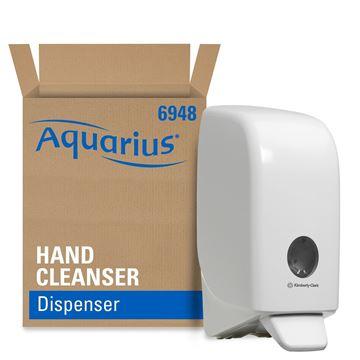 Aquarius™ Hand Cleanser Dispenser 6948 – White, 1 Ltr