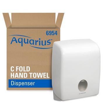 Aquarius™  C Fold Hand Towel Dispenser (product code 6954) - White