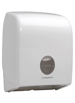 Aquarius™ Single Mini Jumbo Toilet Tissue Dispenser 6958 – White