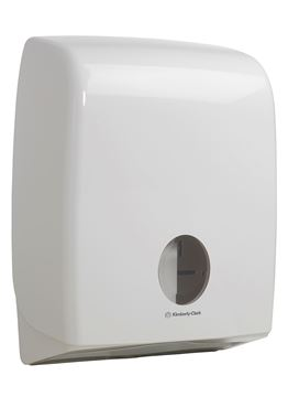 Aquarius™ Bulk Pack Folded Toilet Tissue Dispenser 6990 – White