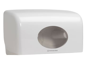 Aquarius™ Small Roll Toilet Tissue Dispenser 6992 – White