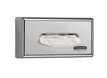 Kimberly-Clark Professional™ Facial Tissue Dispenser 7820 - Silver