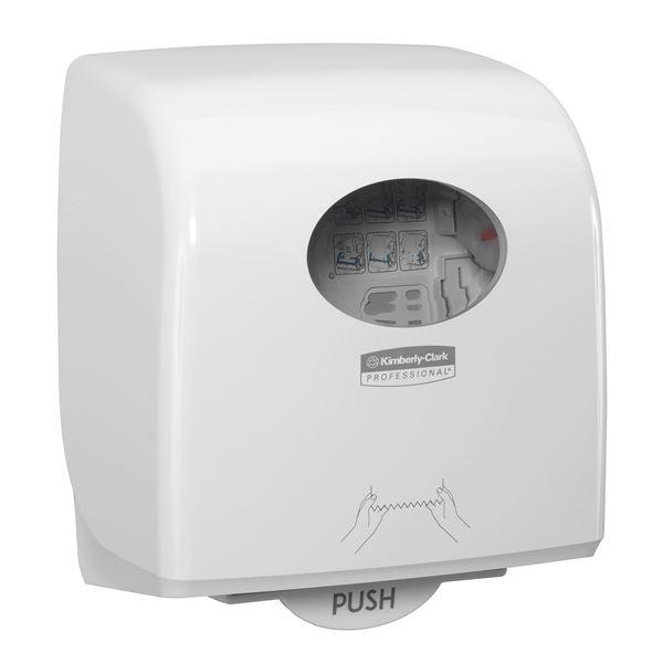 Aquarius™ Slimroll™ Rolled Hand Towel Dispenser 7955 - White