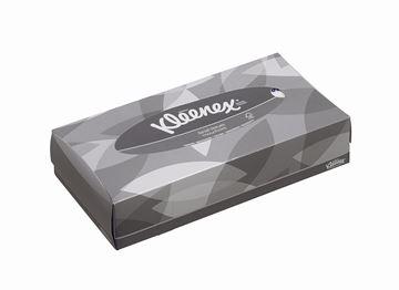 Kleenex® Facial Tissues 8835 - White,  2 ply,  21x100 (2,100 sheets)