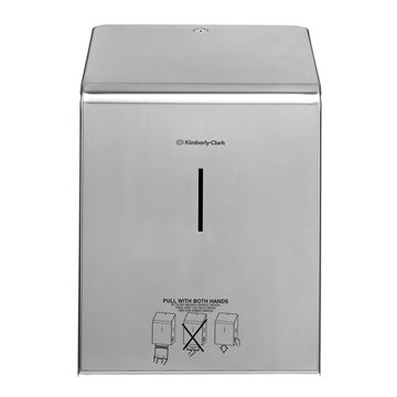 Kimberly-Clark Professional™ Rolled Hand Towel Dispenser 8976 - Stainless Steel