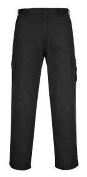 Combat Trousers Tall Leg - Black
